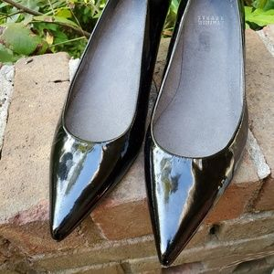 Stuart Weitzman Black Patent Leather Pumps Size 9